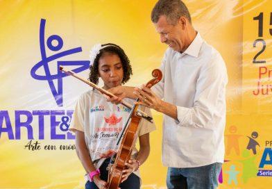 Projetos sociais musicais atendem cerca de 200 crianças em Arraias