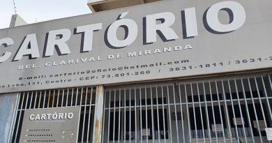 """Em Formosa o """"Cartório Clarival de Miranda"""" não é mais do Clarival"""